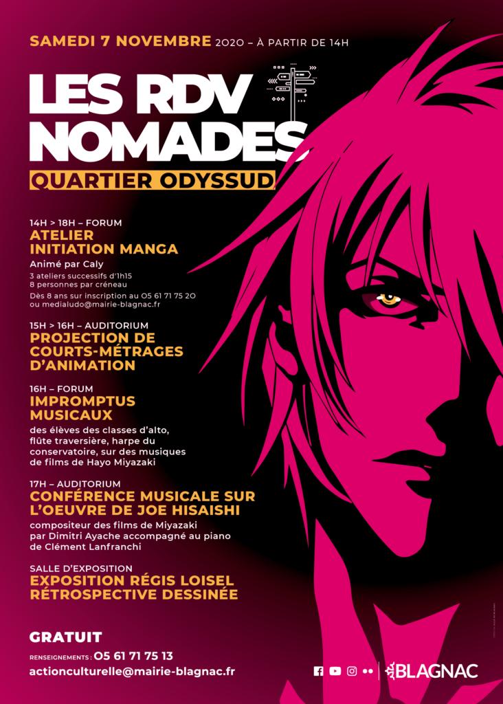 Rdv Nomades 7 novembre Manga