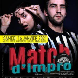 Match Impro MJC des Arts de Blagnac