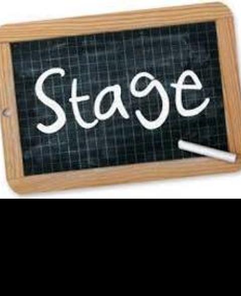 visel stage + bandeau blanc