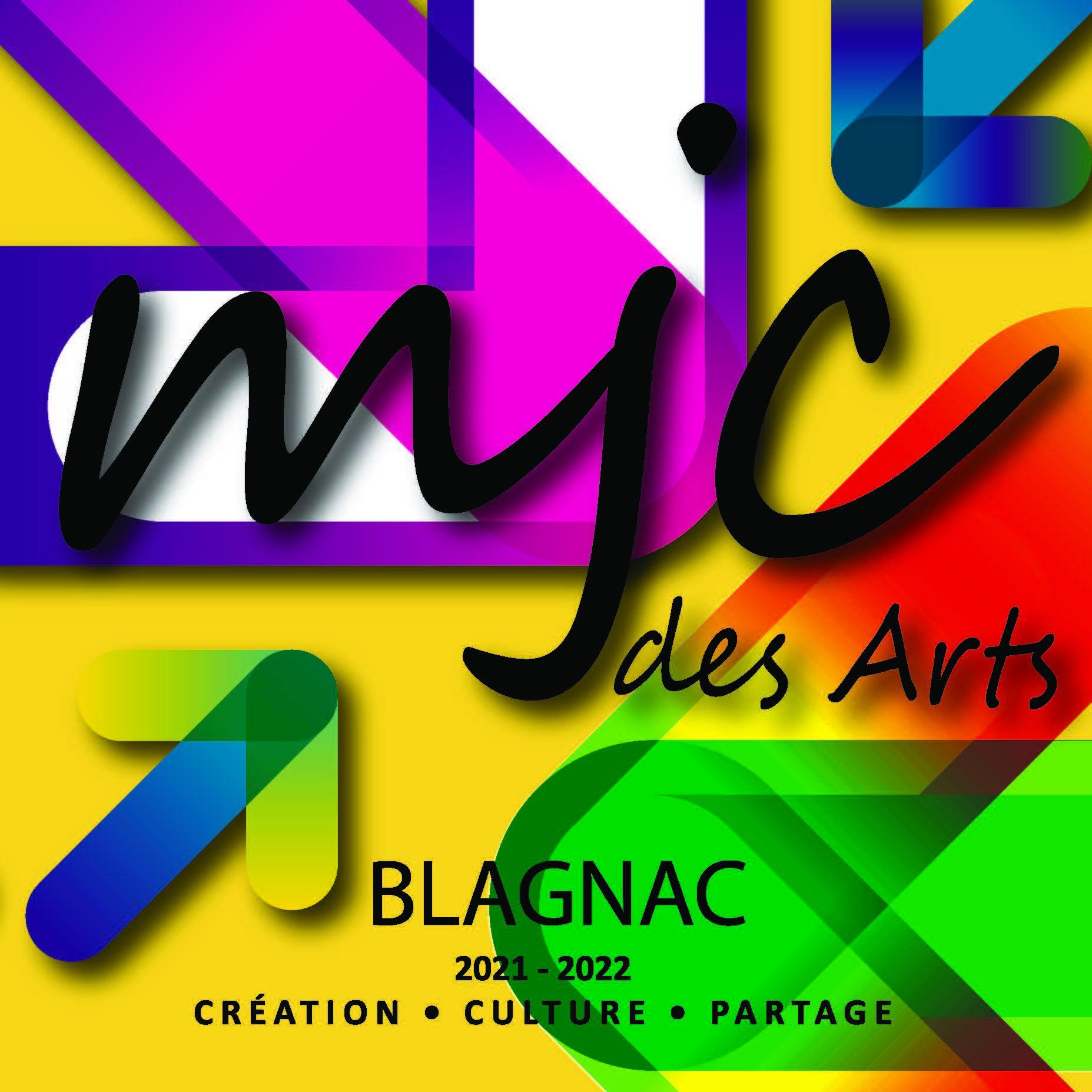 Une plaquette saison 2021-2022 MJC des Arts de Blagnac