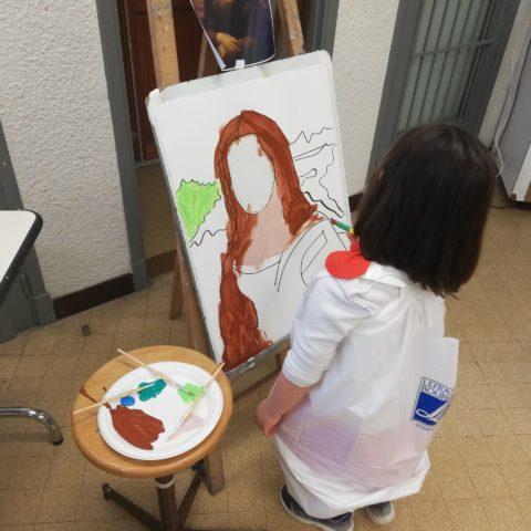 Atelier Arts plastiques maternels MJC des Arts de Blagnac