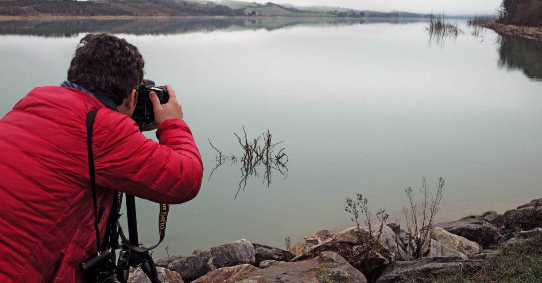 Lac de la Ganguise / 23 Janvier 2016 © Fabien Ferrer /+33 (0)6 89 84 22 88
